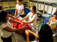 Reiki im größten Frauengefängnis in Brasilien