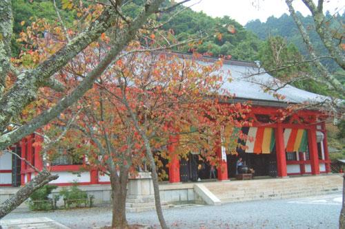 Tempel auf dem Kurama-Berg