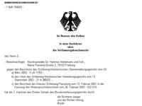 Bundesverfassungsgericht Reiki