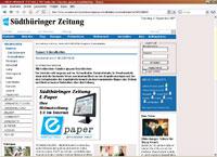 Reiki Südthüringer Zeitung