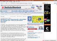 Märkische Allgemeine über Reiki und Geistheilung