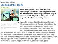 Reiki Netzzeitung