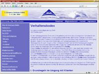 DGH Verhaltenskodex