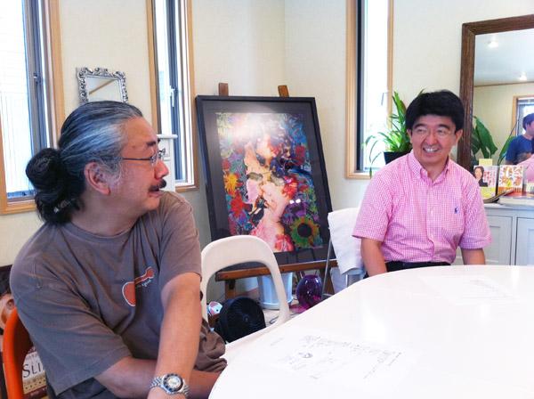 Nobuo Uematsu und Toshitaka Mochizuki